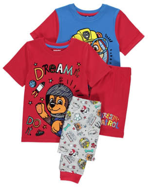 PAW Patrol Assorted Pyjamas 2 Pack
