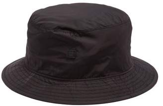 Acne Studios Buk Face Technical Shell Bucket Hat - Womens - Black