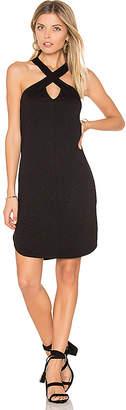 Lanston Cross Front Mini Dress