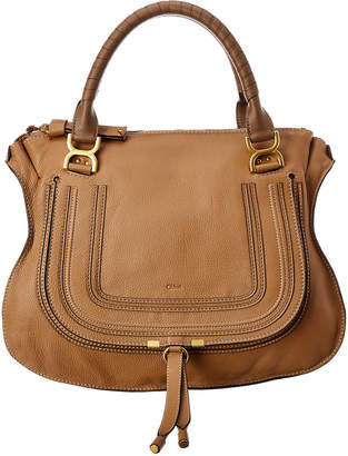 a7371bc30128 Chloé Marcie Large Leather Shoulder Bag. Chloe Large Marcie Handbags Style