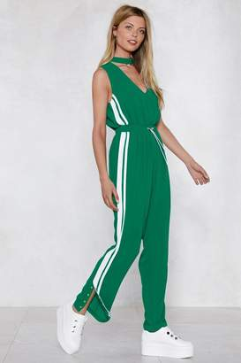 Nasty Gal People of the World Striped Jumpsuit