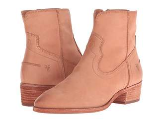 Frye Ray Seam Short Cowboy Boots