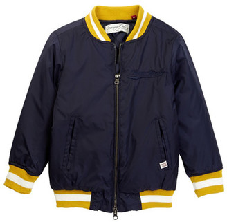Sovereign Code Cities Varsity Jacket (Toddler & Little Boys) $72 thestylecure.com