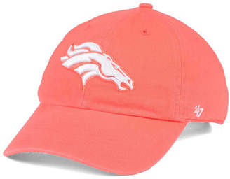'47 Women's Denver Broncos Pastel Clean Up Cap
