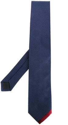 Prada contrast stripe tie