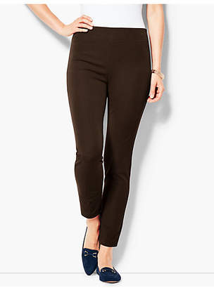 Talbots Bi-Stretch Pull-On Skinny Ankle Pant