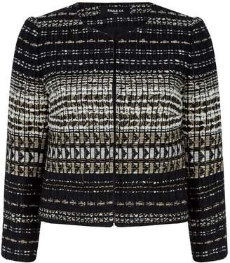 Paule Ka Tweed Cropped Jacket