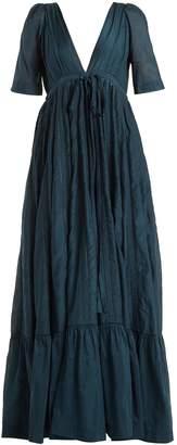 KALITA Uschi cotton-blend maxi dress