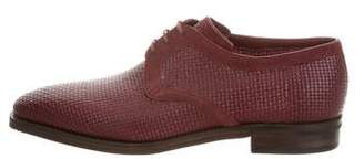 Corthay Sergio Woven Oxfords w/ Tags