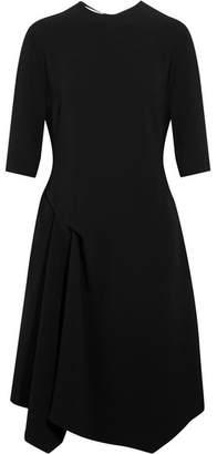 Xandria Asymmetric Cady Dress - Black