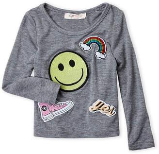 Baby Sara Infant Girls) Emoji Long Sleeve Top