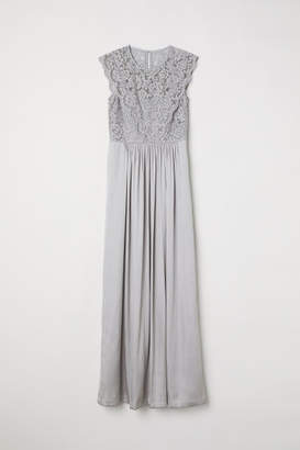 H&M Long Dress - Gray
