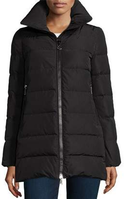 Moncler Petrea Quilted Puffer Coat $995 thestylecure.com