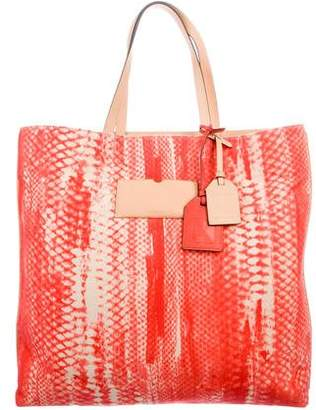 Reed Krakoff Leather-Trimmed Canvas Tote w/ Tags