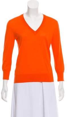 Dolce & Gabbana V-Neck Long Sleeve Sweater