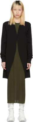 Rick Owens Black Dirt Cardigan