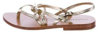 Gerard Darel Leather Thong Sandals