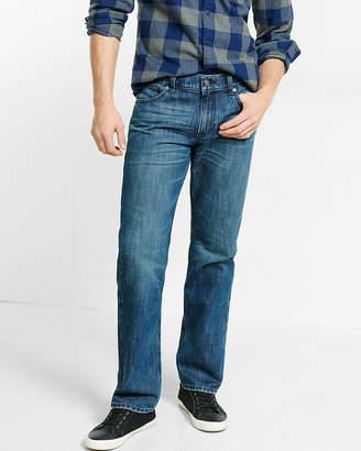Express Classic Straight Medium Wash 100% Cotton Jeans