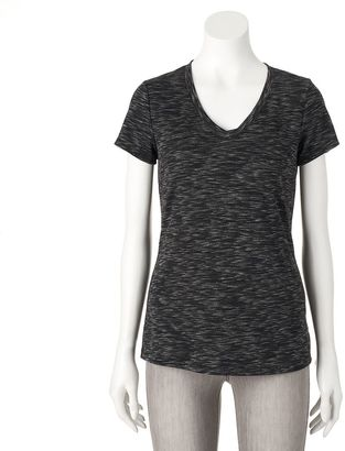 Women's Apt. 9® Modern Essential Space-Dyed Tee $18 thestylecure.com