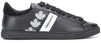 DSQUARED2 maple leaf sneakers