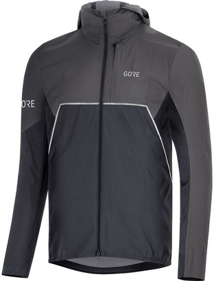 Gore Wear R7 Partial Gore-Tex Infinium Hooded Jacket - Men's