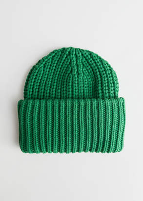 And other stories Rib Knit Beanie