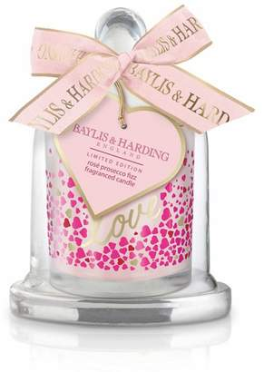 Baylis & Harding Limited Edition Rose Prosecco Fizz Fragranced Candle