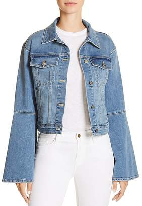 Joe's Jeans Bell Sleeve Denim Jacket in Jaclyn