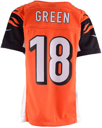 Nike A.j. Green Cincinnati Bengals Game Jersey, Big Boys (8-20)