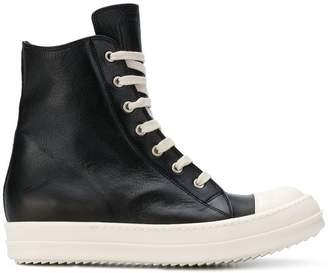 Rick Owens bootie high top sneakers