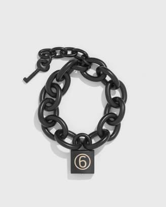 MM6 MAISON MARGIELA Chain Padlock Bracelet