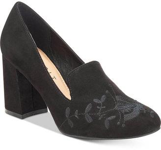 Esprit Linda Block-Heel Pumps $59 thestylecure.com