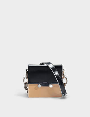 Marni Show Square Bag in Navy Domesticated Calf