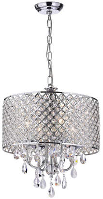 House of Hampton Von 4-Light Crystal Chandelier