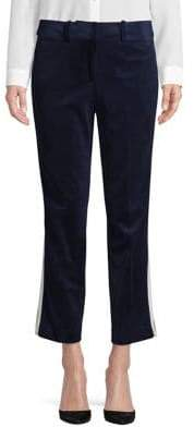 Tommy Hilfiger Cropped Velvet Pants