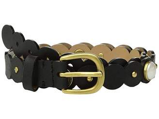 Kate Spade 20 mm. 3/4 Scalloped Pearl Belt
