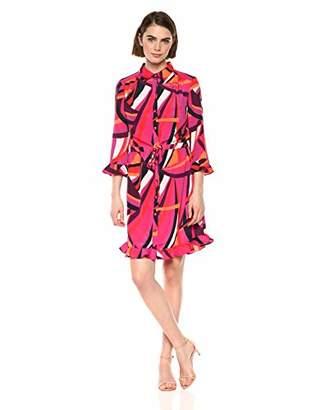 Trina Turk Trina Women's NAT Drawstring Shirt Dress