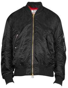 Acne Studios Mayo Full Zip Bomber Jacket