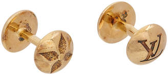 Louis Vuitton Gold Cufflinks