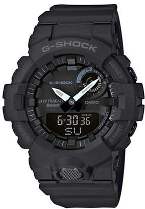 Casio Mens Black Multi-Function G Shock Step-Tracker GBA800 Watch