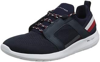 48a6c98d Tommy Hilfiger Men's Technical Material Mix Sneaker Low-Top