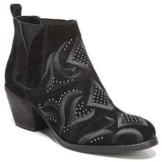 Fergie Lexy Embroidered Ankle Boot