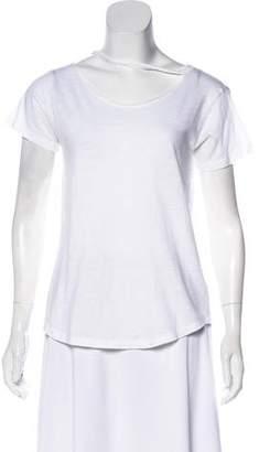 LnA Cutout Short Sleeve Top