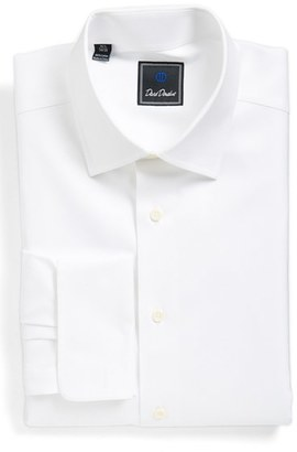 Men's David Donahue Regular Fit Texture French Cuff Dress Shirt $135 thestylecure.com