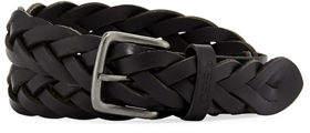 Joe's Jeans Braided European Leather Belt