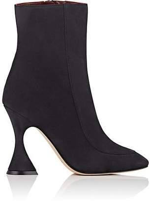 Sies Marjan Women's Emma Nubuck Ankle Boots - Black