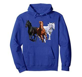 Horse Lover Hoodie Equestrian Rodeo Farm Girl