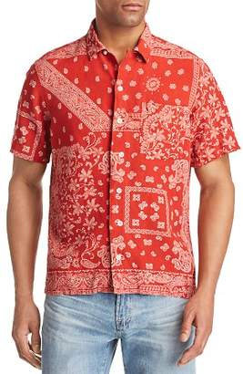 Polo Ralph Lauren Bandanna Print Classic Fit Button-Down Shirt