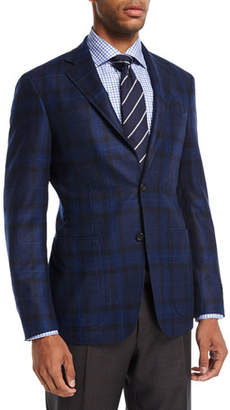 Canali Plaid Wool Sport Coat