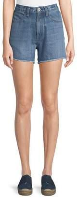 Rag & Bone Torti High-Rise Denim Shorts